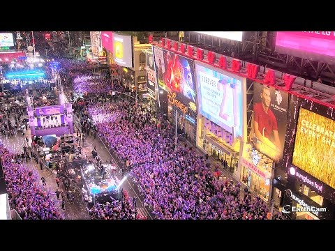 New Year's Eve - Times Square Crossroads – EarthCam
