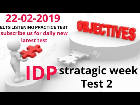 Repeat IDP IELTS listening test february | Today Ielts
