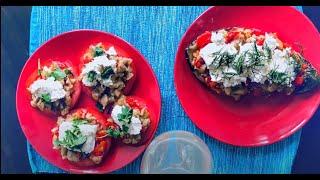 Две летние закуски из одних и тех же продуктов! Болгарская кухня.