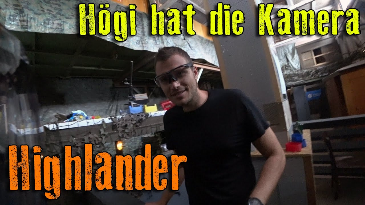 Högi hat die Kamera | Highlander Airsoft un-Funny Moments CQB Gameplay Lauterbach