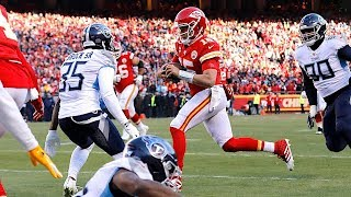 The Voice of REason: We Will Be Seeing Patrick Mahomes' 27-Yard TD Run For Years to Come | 1/20/20