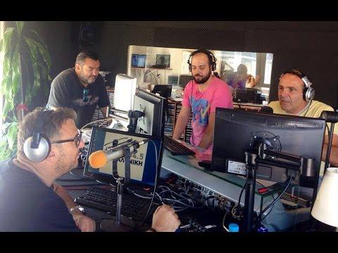 Ο Αντώνης Ρέμος Στο Ράδιο Θεσσαλονίκη - Antonis Remos Radio Thessaloniki