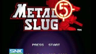 METAL SLUG 5 (Playstation 4 Anthology)- Gameplay Footage (Complete Game)