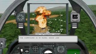 Sierra's Silent Thunder: A-10 Tank Killer II - Gameplay - Columbia - Mission 3: Home Sweet Home