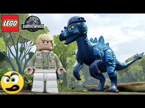 Lego Jurassic World - Mercúrio e seu Dinossauro Veloz