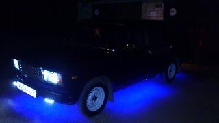Светодиодная подсветка днища / своими руками / ваз 2107 / 450р
