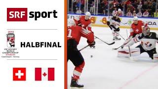 Halbfinal 2018: Spektakuläre Leistung Gegen Kanada | Schweiz- Kanada 3:2 | Eishockey - Full Match