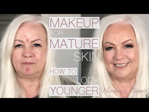Make-up for Mature skin ( how to look younger ) - Harmonize_ Beauty