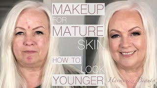 Make-up for Mature skin ( how to look younger )