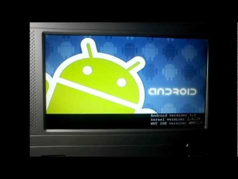 Android Netbook WM8505 ARM Processor