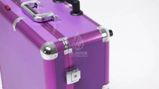 شنطة المكياج المبتكرة من مؤسسة الحور للزيوت ومنتجات العناية بالبشرة  @alhoor_factory   0097152941119