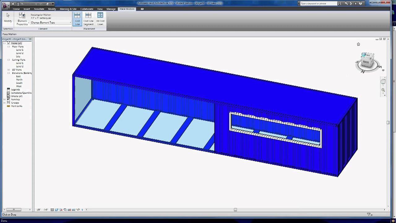 Managing Cargo Containers In Revit Architecture 2010 Part