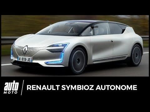 renault symbioz essai on a test la voiture autonome sur l autoroute youtube. Black Bedroom Furniture Sets. Home Design Ideas