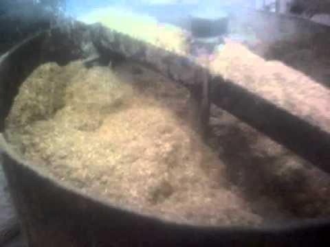 Как сделать травяную муку видео