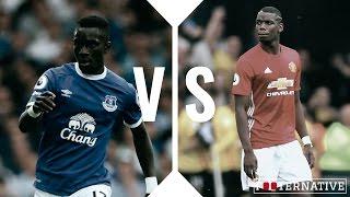Duel: Idrissa Gana Gueye vs Paul Pogba l 2016/17