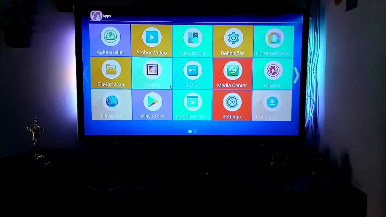 Box Android iptv - YouTube
