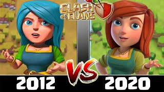 Starting Clash of Clans in 2012 Vs 2020 | Old CoC Versus New CoC - What Has Changed?