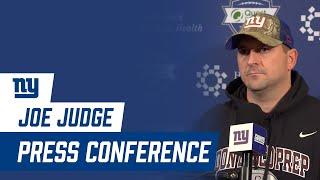 Joe Judge on Plan for Daniel Jones; Andrew Thomas Stepping Up to the Plate | New York Giants