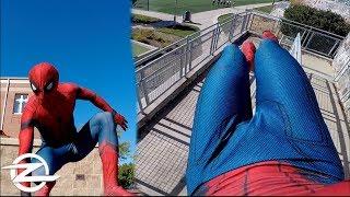 SPIDERMAN GoPro PARKOUR | HERO 5