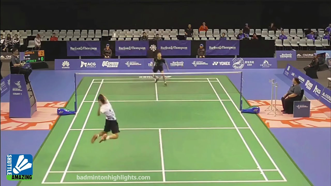 Anthony Ginting Smash and Deception to Beat France No.1 | Anthony Ginting vs Brice Leverdez