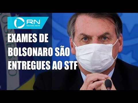 Governo entrega resultado dos exames de Bolsonaro ao STF