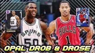 NBA 2K19 GALAXY OPAL DERRICK ROSE & DAVID ROBINSON! | 6 NEW CARDS IN NBA 2K19 MyTEAM