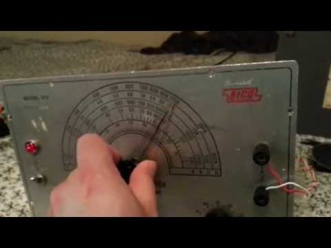 Eico 377 audio generator (New video)