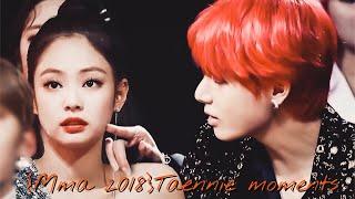 Download Lagu TAENNIE MOMENTS  MMA 2018 Jennie(blackpink) X Taehyung(bts)