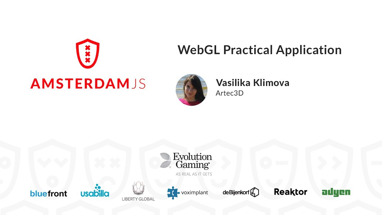 WebGL Practical Application – Vasilika Klimova
