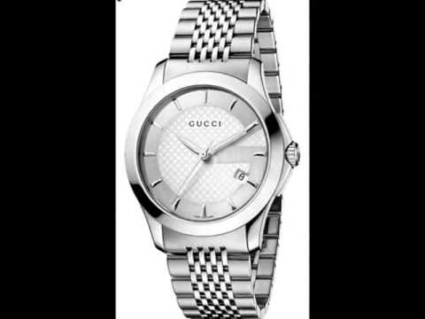 7d6c732faf6 Gucci G-Timeless Gents Stainless Steel Bracelet Watch YA126401 - YouTube