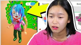 SISTER REACTS TO HER HACKED ROBLOX ACCOUNT!!
