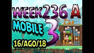 Angry Birds Friends Tournament Level 3 Week 326-A  MOBILE Highscore POWER-UP walkthrough
