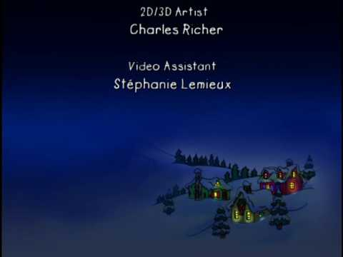 Caillou's Holiday Movie End Credits Sony Wonder Version