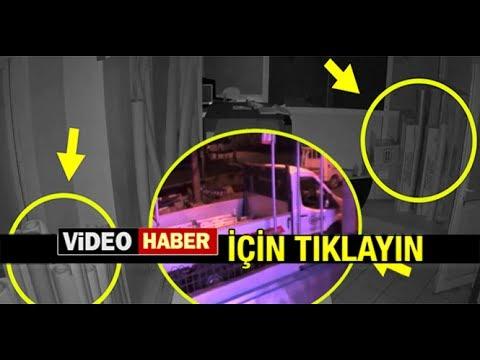 MİLAS'TA DEPREM ANI GÜVENLİK KAMERALARINDA...