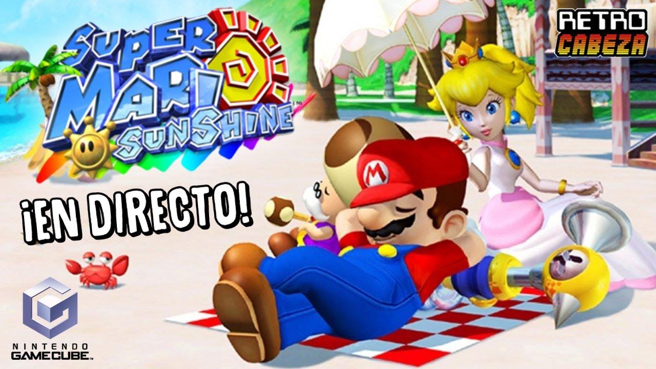 Super Mario Sunshine ¡en DIRECTO! (con hardware real)
