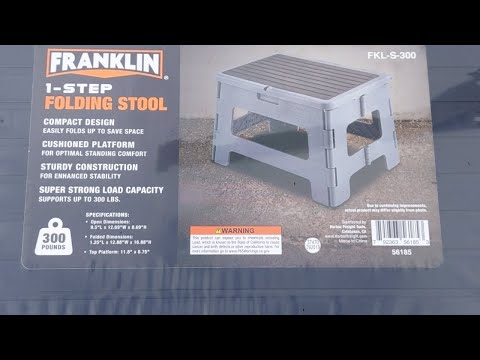 Harbor Freight Franklin Step Stool