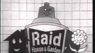 Raid flykiller 1960   Classic TV advert