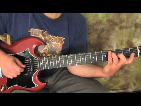 Metallica - Fade to Black - How to Play the Opening Riff