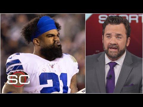 Ezekiel Elliott Getting 13 Carries In Cowboys Vs. Eagles Is Baffling – Jeff Saturday | SportsCenter