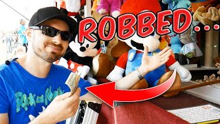 I Got Scammed At The Carnival! (Never Play This Game...) ArcadeJackpotPro