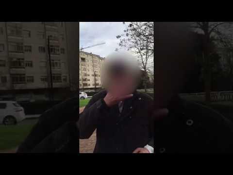 Varios jóvenes se graban en Lugo mientras le dan a esnifar a un anciano una sustancia
