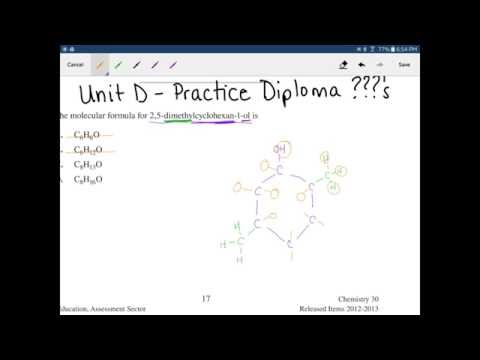 Practice Diploma Questions Unit D - Organic Chemistry
