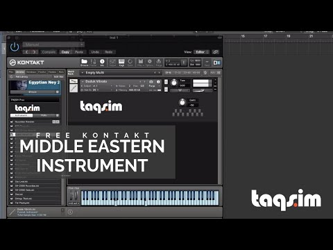 TAQSIM Free Kontakt Middle Eastern Instrument   TAQS IM