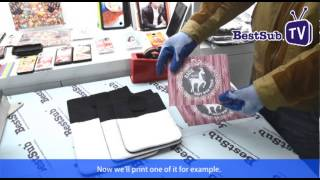 How to make Sublimation tablet cases by BESTSUB Europe