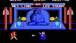 MSX Game: Yie Ar Kung-Fu 2:  The Emperor Yie-Gah (1985 Konami)