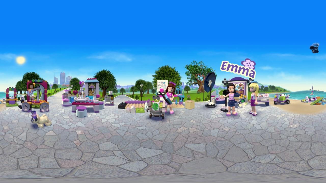 LEGO® Friends - Oslava přátelství - 360° video (česky)