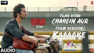 Tujhe Kitna Chahein Aur Hum Short Karaoke Shahid Kapoor Kabir Singh
