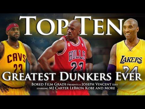 Top Ten Greatest Dunkers Ever