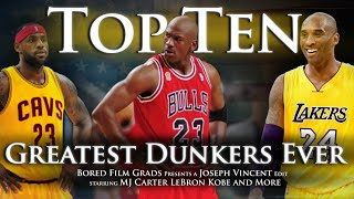 Top Ten Greatest Dunkers Ever streaming