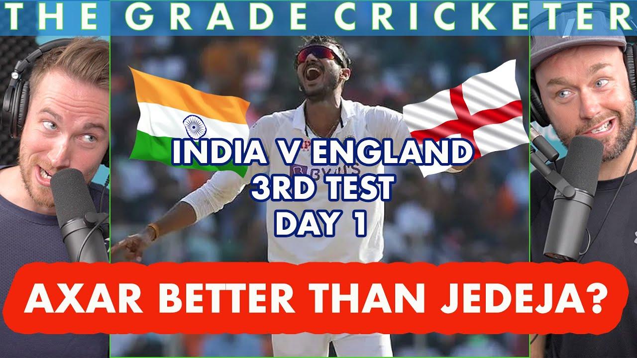 India v England | 3rd Test, Day 1 | Axar Better Than Jadeja?
